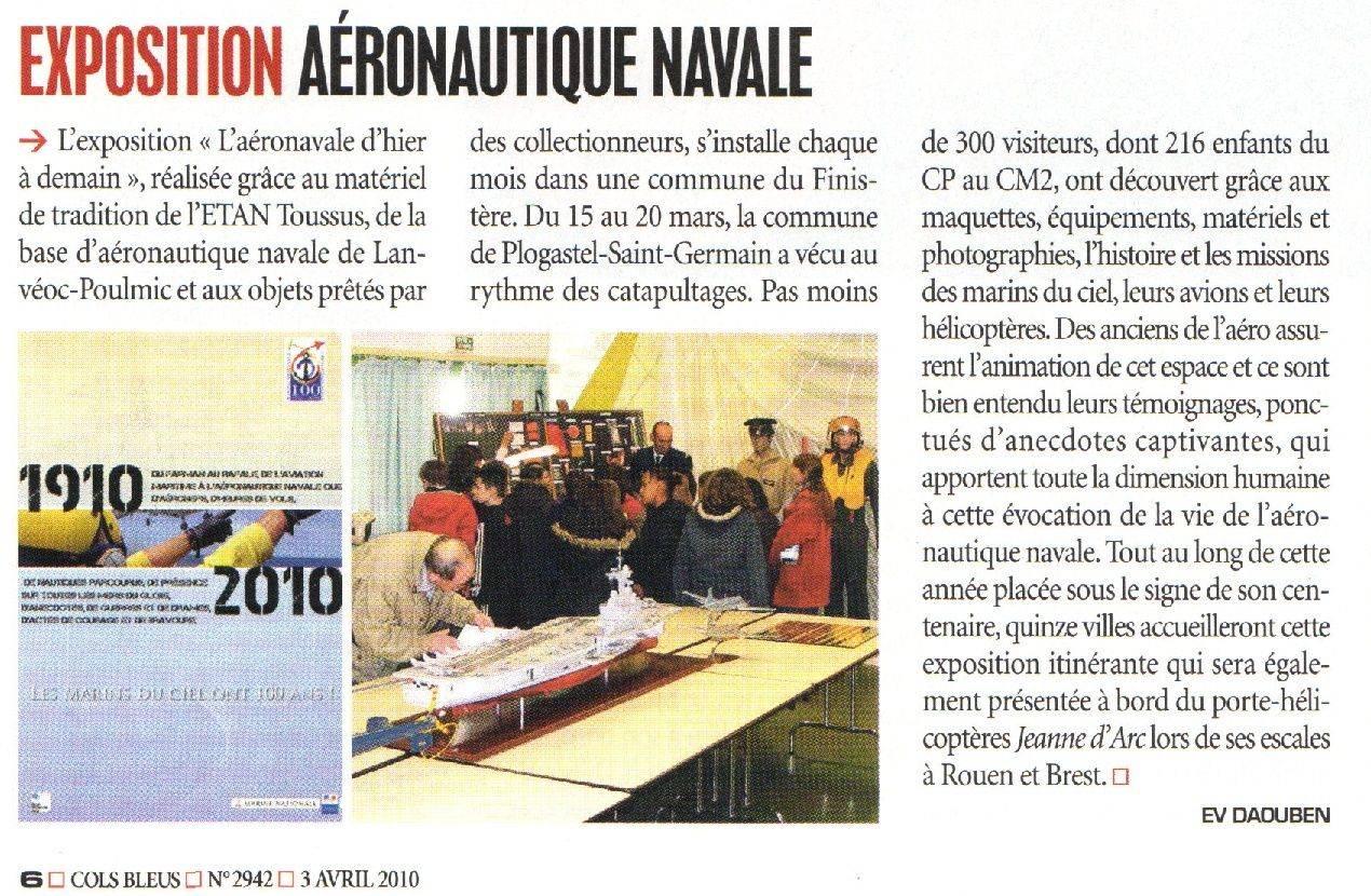 100 ème anniversaire de l'Aéronautique navale - Page 2 Expo10