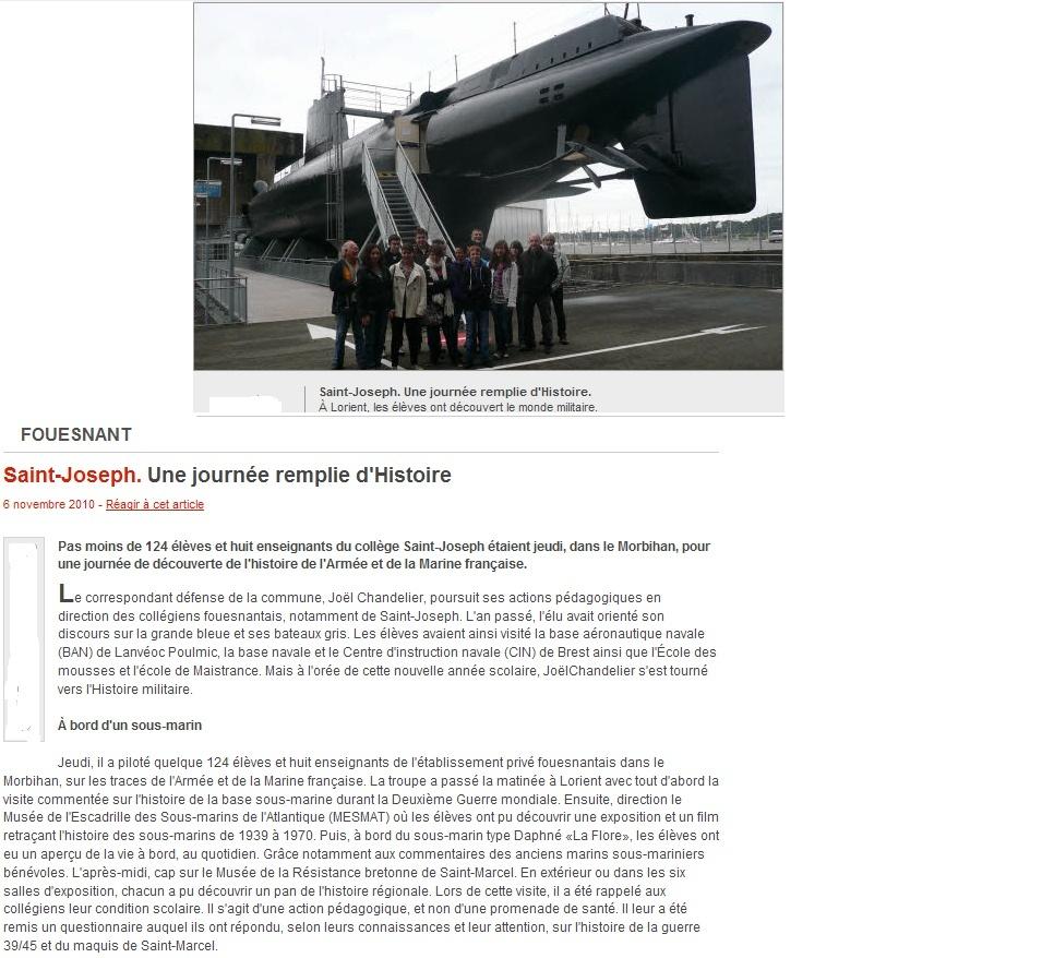[Les Musées en rapport avec la Marine] Sous-Marin  Flore - Page 3 Photo10
