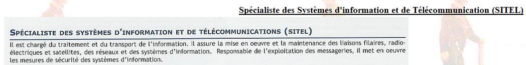 [Les écoles de spécialités] ÉCOLE DES TRANSFILISTES - LA CRAU - Page 5 Sitel10