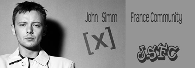John Simm France community
