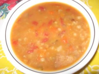 Soupe repas à la mijoteuse (au boeuf) Img_1468