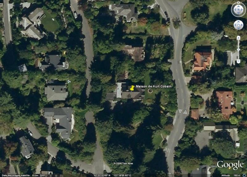Maison de Kurt Cobain, Seatle, Washington - USA Cobain10