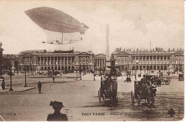 Cartes postales anciennes Vs StreetView Concor10