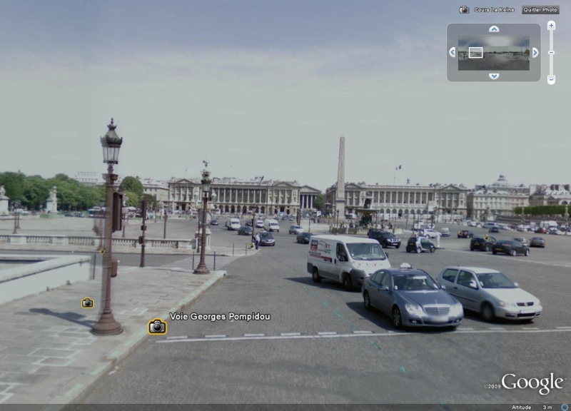 Cartes postales anciennes Vs StreetView Concor11