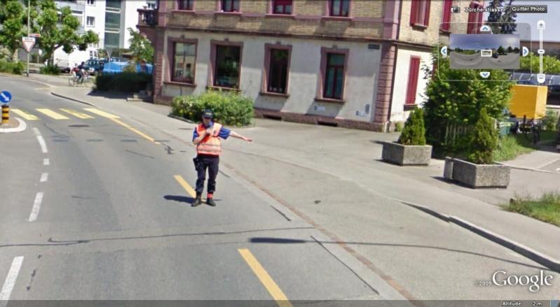 STREET VIEW : Contrôle de police, Feuerthalen, Suisse Contro10
