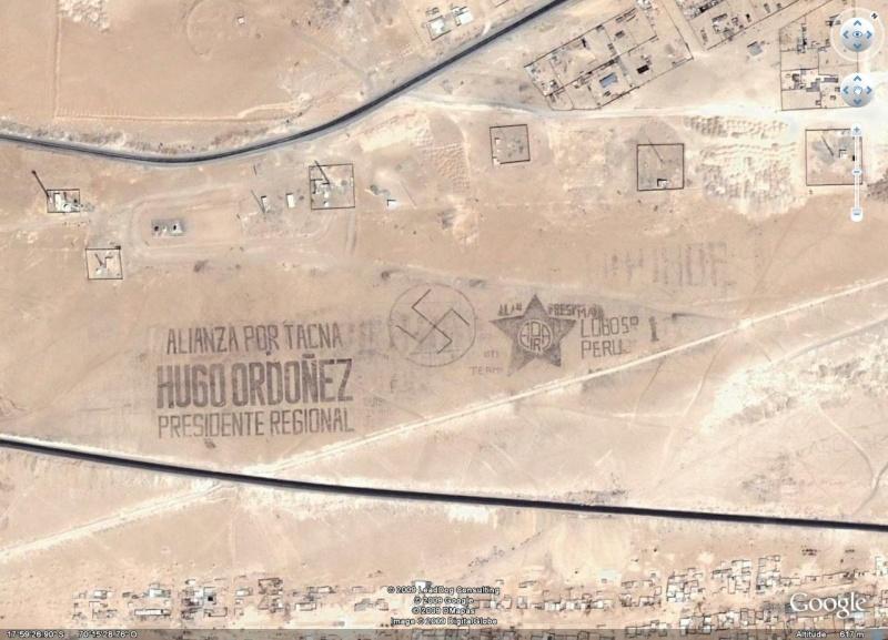 Ecritures et dessins au Pérou Croix10