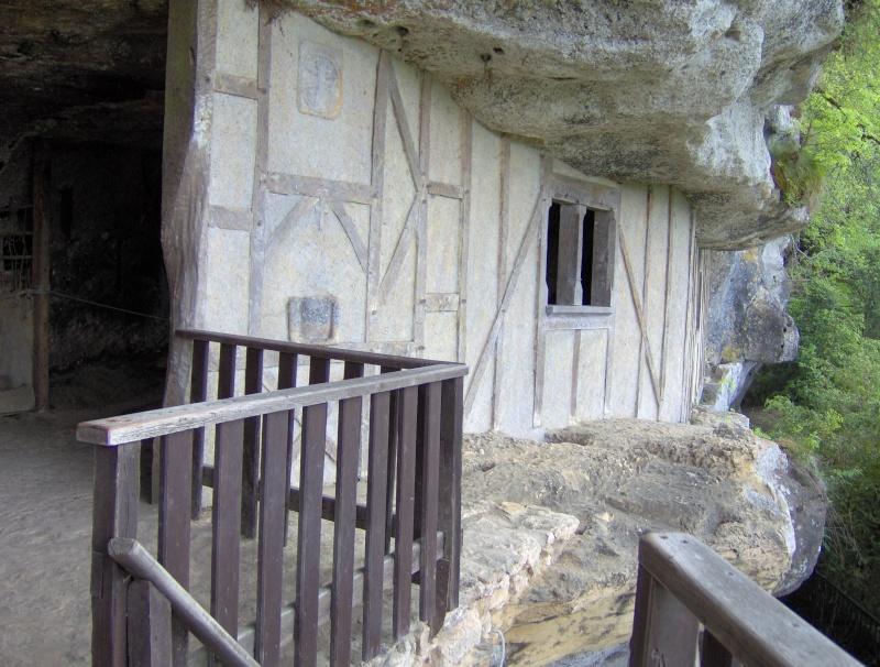 La Roque Saint-Christophe, Payzac-Le-Moustier, Dordogne, Fr. Hpim1326
