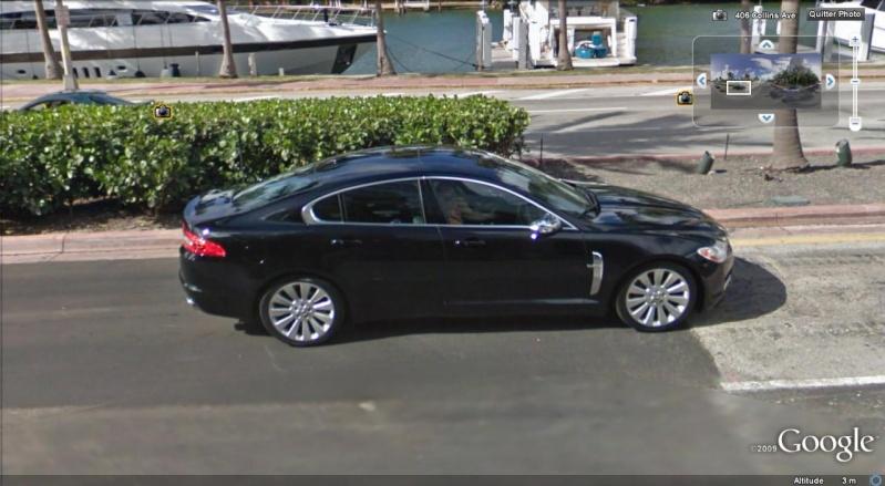 STREET VIEW : belles voitures (Monde) - Page 5 Jaguar10