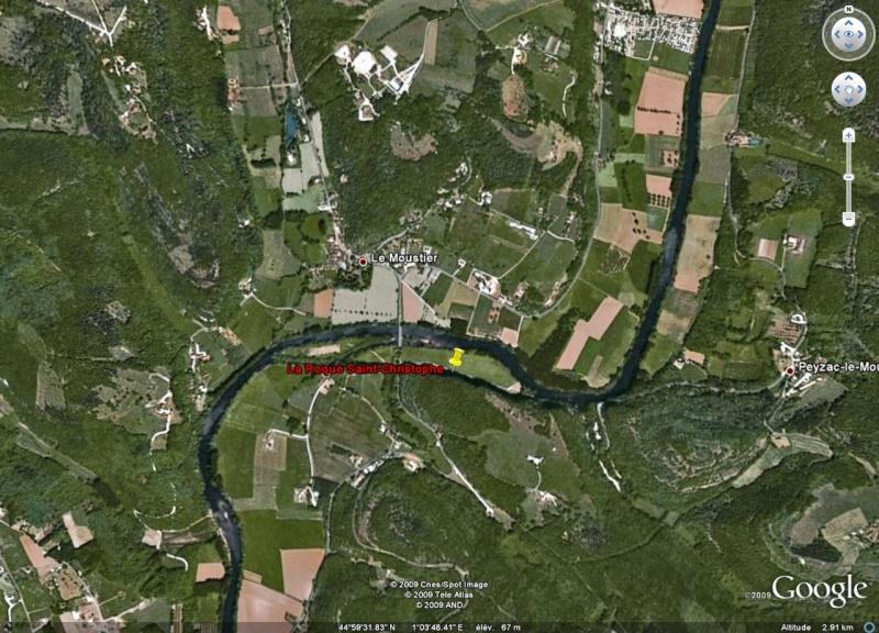 La Roque Saint-Christophe, Payzac-Le-Moustier, Dordogne, Fr. La_roq12
