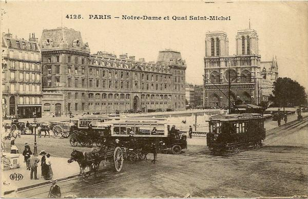 Cartes postales anciennes Vs StreetView Notre_10