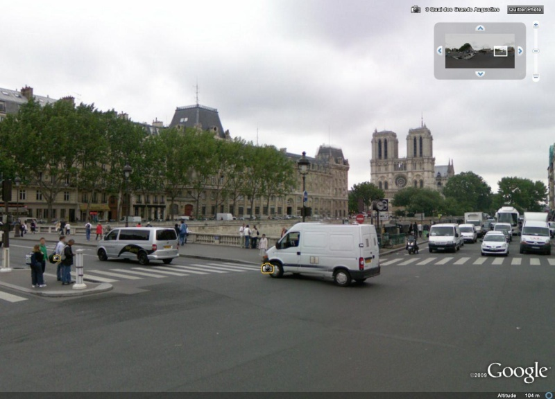 Cartes postales anciennes Vs StreetView Notre_11