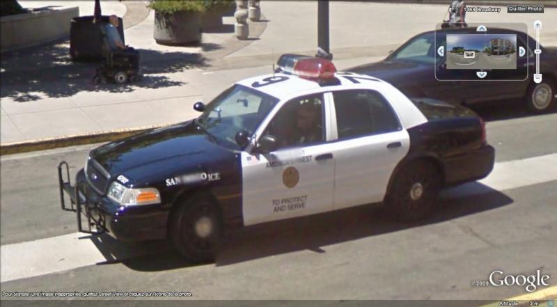 STREET VIEW : véhicules de police du monde - Page 2 Police14
