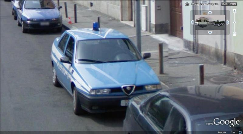 STREET VIEW : véhicules de police du monde - Page 2 Police18
