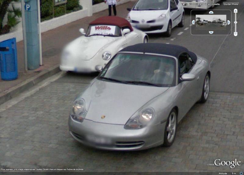 STREET VIEW : belles voitures (France) - Page 3 Porche10