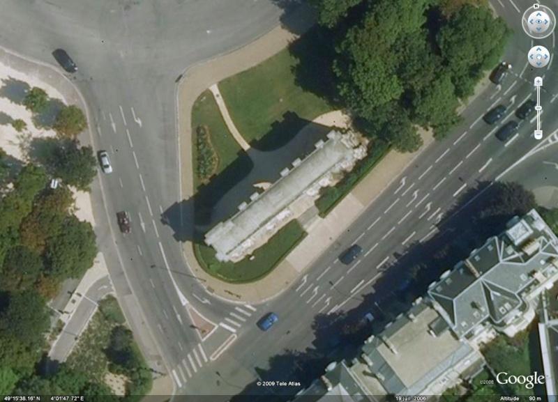 Antiquités romaines sous l'oeil de Google Earth Porte_10