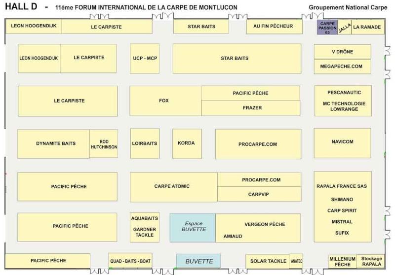 Du 26 au 28 février = Salon de Montlucon Hall-d10