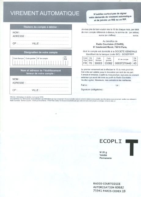 Publipostages commerciaux = nouvelle esbrouffe en vue 0610