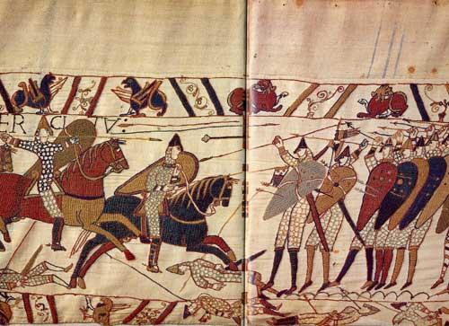 La tapisserie de Bayeux Bayeux11