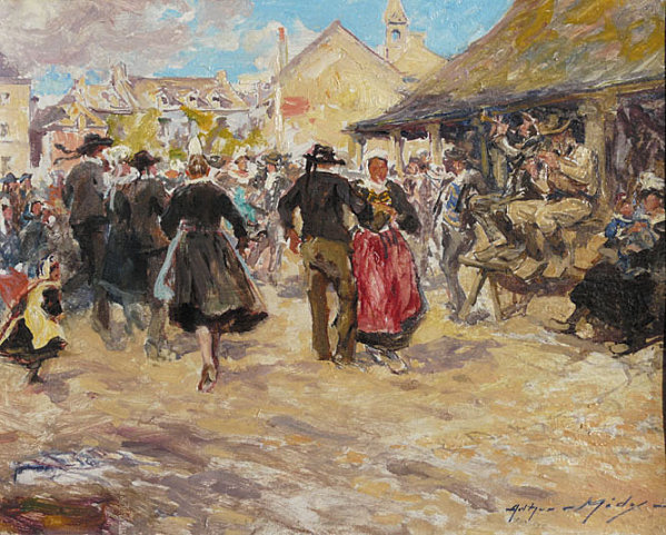 La Bretagne vue par les peintres Dansem10