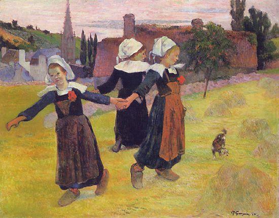 La Bretagne vue par les peintres Gaugui10