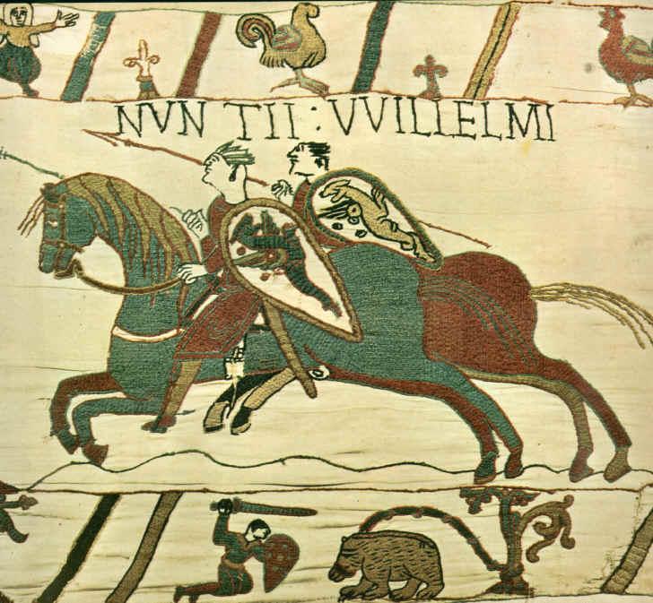 La tapisserie de Bayeux Guilla10