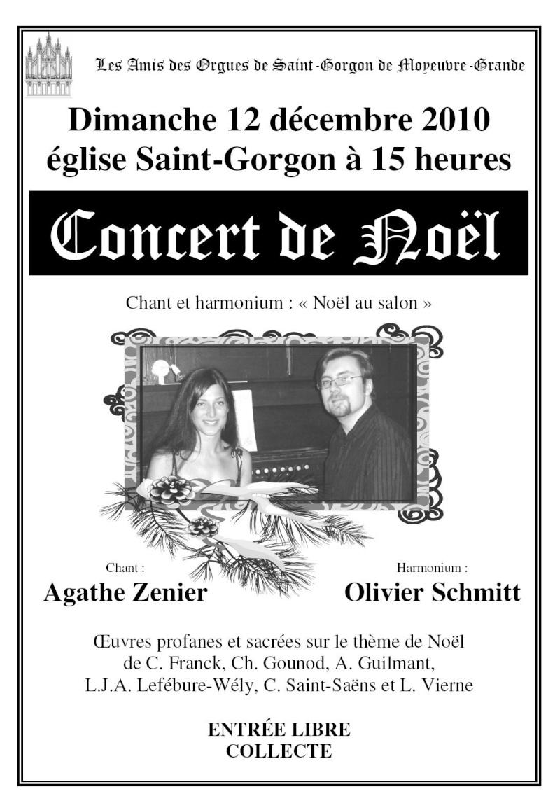 Concert de Noël le 12 décembre 2010 à Moyeuvre-Grande Affich10