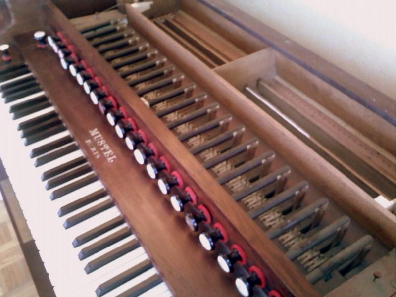 Nouvelle acquisition : harmonium d'art Mustel Mustel15
