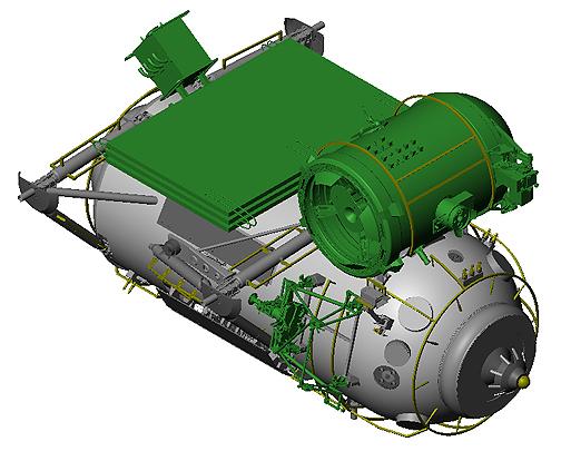 Lancement du module Mim-1 (avril 2010) 752spa10