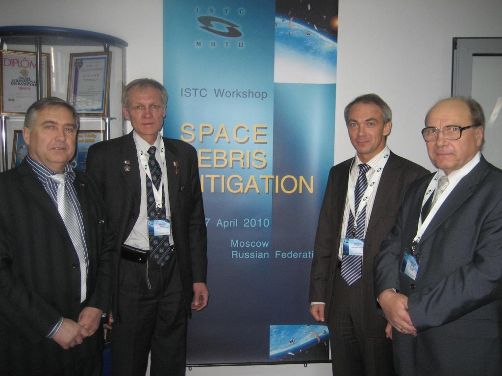 Conférence sur les débris spatiaux à Moscou Img_0410