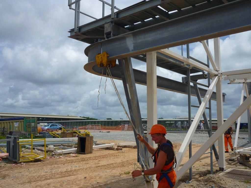 Etat d'avancement du chantier Soyouz en Guyane (Sinnamary) - Page 22 P1050611