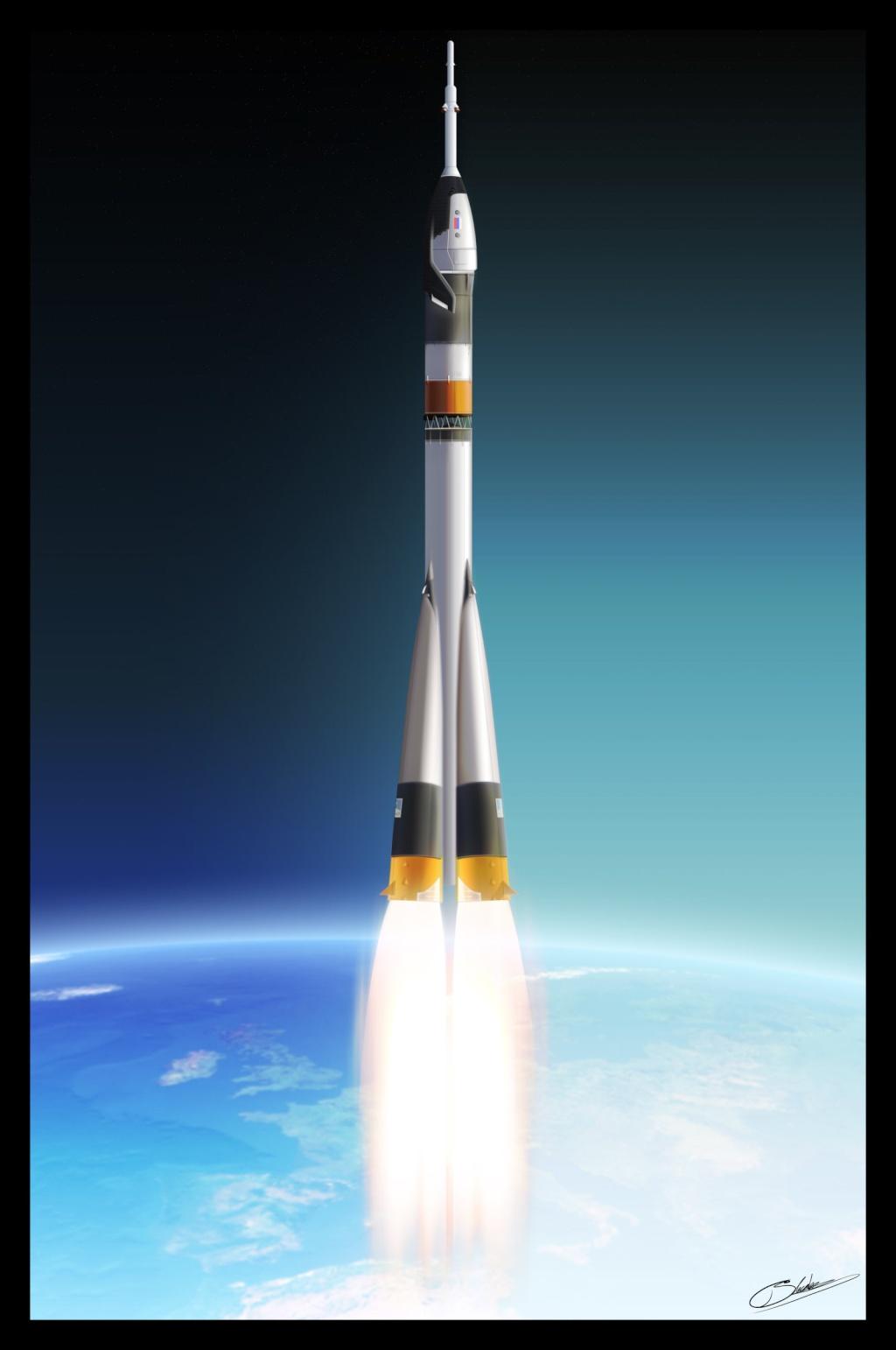 Kliper: quand un concept inspire les artistes Soyuz_11