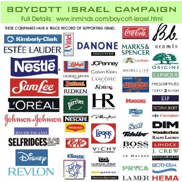 Génocide à Gaza - Page 3 Boycot10