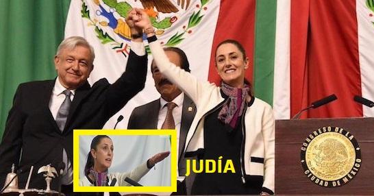 LA CD. DE MÉXICO GOBERNADA POR UNA JUDÍA SIONISTA Coup10