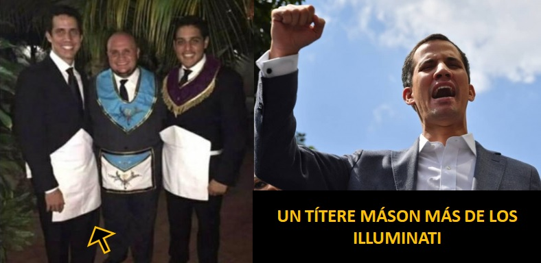 EL MASÓN JUAN GUAIDÓ MARIONETA DE LOS ILLUMINATI Orange40
