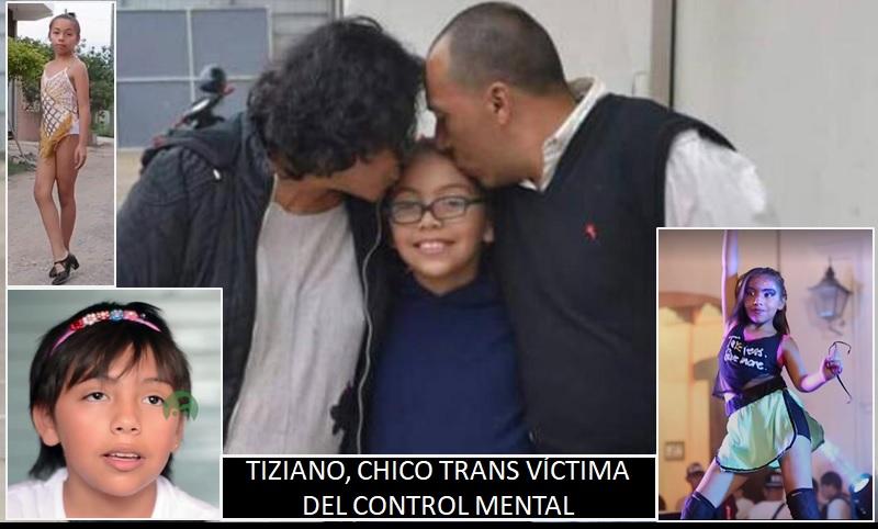 """VAS A SER MI PUTITO"", TIZIANA NIÑA TRANSEXUAL Sop10"