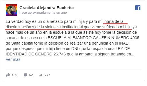 """VAS A SER MI PUTITO"", TIZIANA NIÑA TRANSEXUAL Sop14"