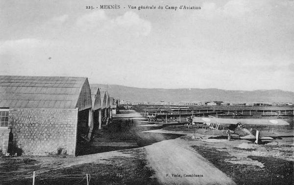 La B.A. de Meknès et les autres Bases du Maroc 13241310