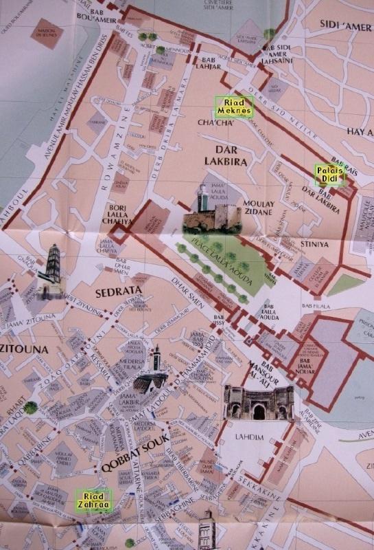 Meknès, la Ville Ancienne et les 2 Mellahs 1 Bab_el10