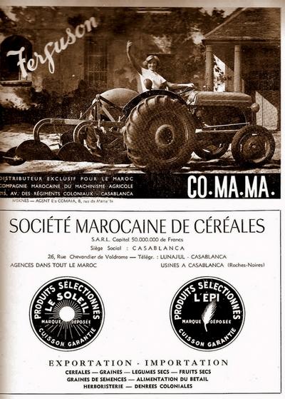 Fermes Agricoles, Viticoles, Région de Meknès Fergus10