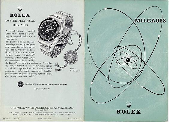 "Milgauss - ""Every Rolex tells a story"": Milgauss 116400 inside File0110"