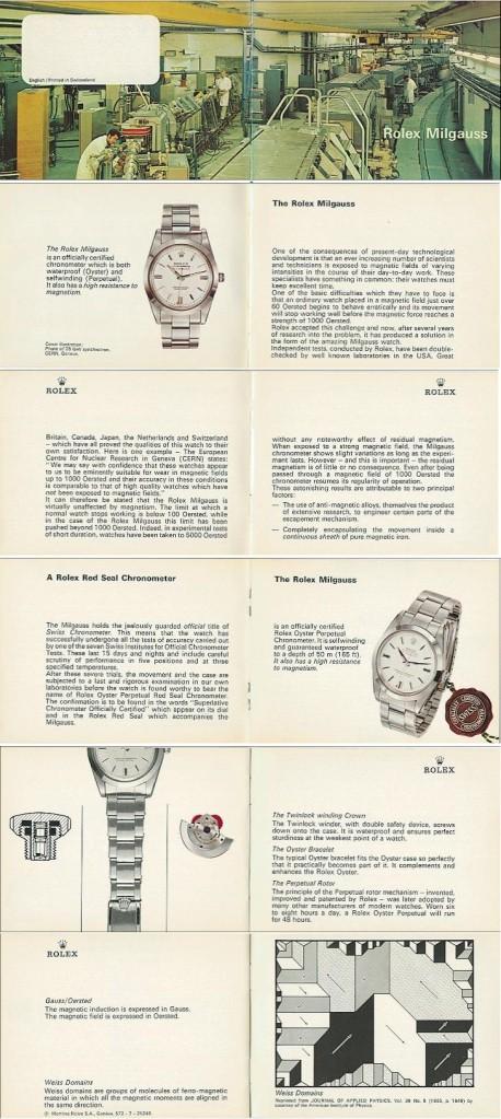 "Milgauss - ""Every Rolex tells a story"": Milgauss 116400 inside Istr1010"