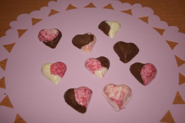 Décor en chocolat pour occasions speciales 20100218