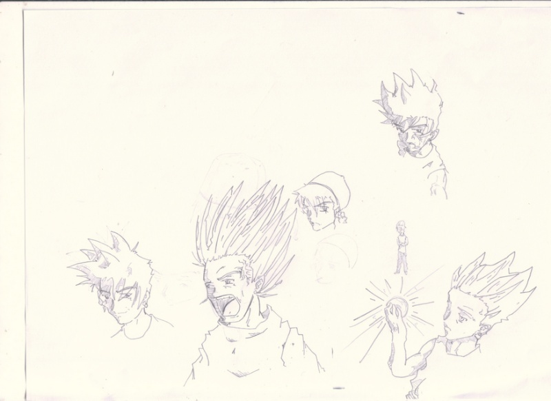 My euhh.... -_-''' bref mes créations - Page 3 Crocqu16