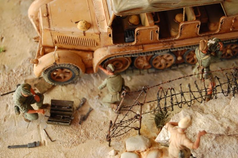 Sur la route de Tobruk (2) Tamiya et scratch - 1/35e Dasert32