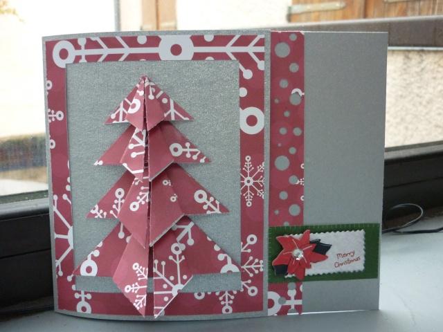 n°9 - carte sapin en origami Origam10