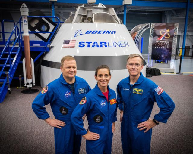 NASA - Présentation officielle des premiers équipages des CST-100 et Dragon Crew Boeing10