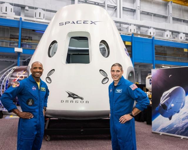 [SpaceX] Dragon Crew, les premiers équipages Mikean10