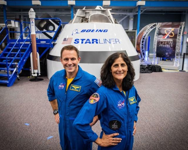 NASA - Présentation officielle des premiers équipages des CST-100 et Dragon Crew Sunijo10