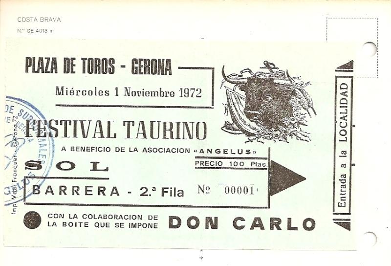 La corrida ...Olé .... Ticket10