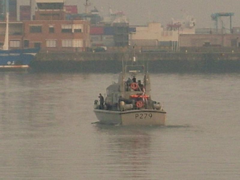 patrouilleurs de la Royal Navy en visite à Ostende Sl371215